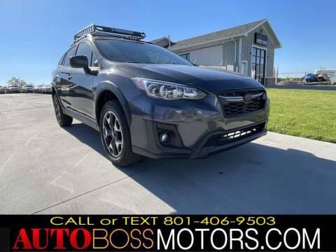 2020 Subaru Crosstrek for sale at Auto Boss in Woods Cross UT