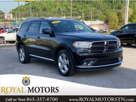 2014 Dodge Durango for sale at ROYAL MOTORS LLC in Knoxville TN
