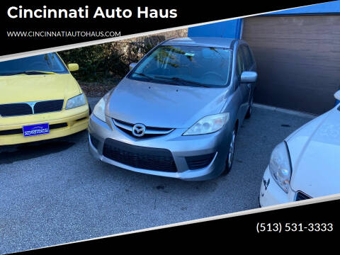 2010 Mazda MAZDA5 for sale at Cincinnati Auto Haus in Cincinnati OH