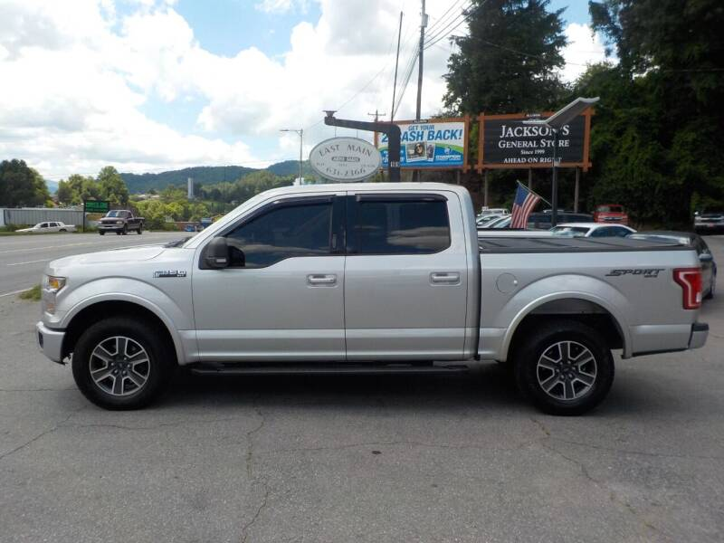 2015 Ford F-150 for sale at EAST MAIN AUTO SALES in Sylva NC
