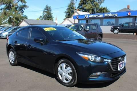 2017 Mazda MAZDA3 for sale at All American Motors in Tacoma WA