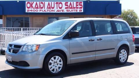 2015 Dodge Grand Caravan for sale at Okaidi Auto Sales in Sacramento CA