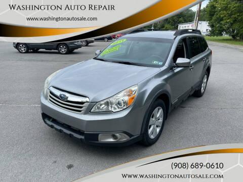 2011 Subaru Outback for sale at Washington Auto Repair in Washington NJ