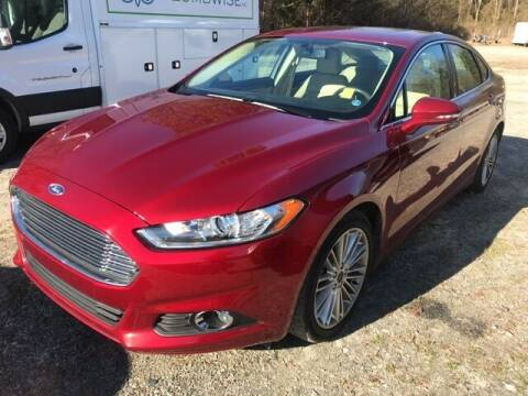 2016 Ford Fusion for sale at BILLY HOWELL FORD LINCOLN in Cumming GA