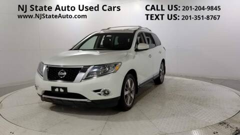 2014 Nissan Pathfinder for sale at NJ State Auto Auction in Jersey City NJ