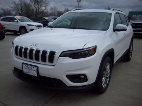 2021 Jeep Cherokee for sale at Nemaha Valley Motors in Seneca KS