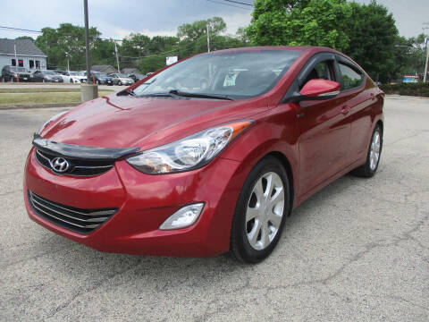 2012 Hyundai Elantra for sale at Triangle Auto Sales in Elgin IL