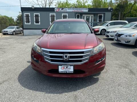 2010 Honda Accord Crosstour for sale at Sincere Motors LLC in Baltimore MD