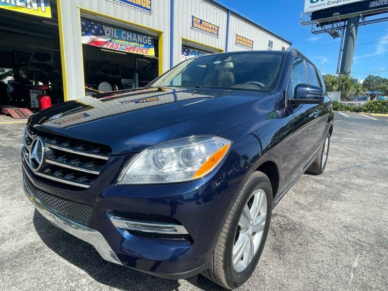 2015 Mercedes-Benz M-Class for sale at RoMicco Cars and Trucks in Tampa FL