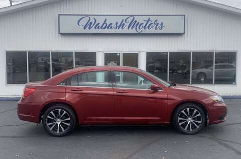 2014 Chrysler 200 for sale at Wabash Motors in Terre Haute IN