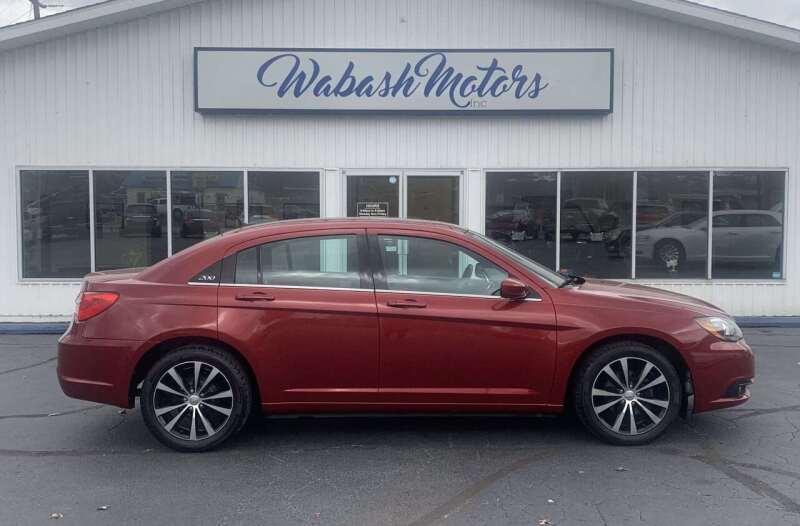 2014 Chrysler 200 for sale at Wabash Motors in Terre Haute IN