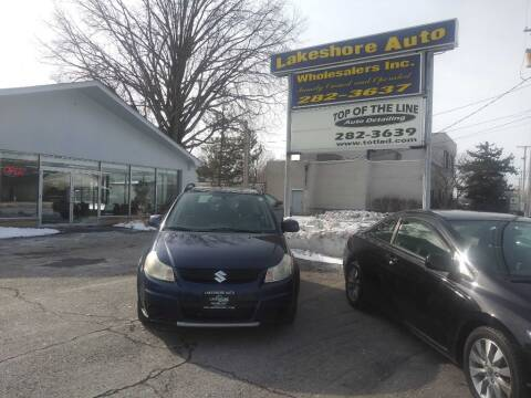 2008 Suzuki SX4 Crossover for sale at Lakeshore Auto Wholesalers in Amherst OH