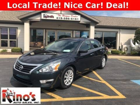 2013 Nissan Altima for sale at Rino's Auto Sales in Celina OH
