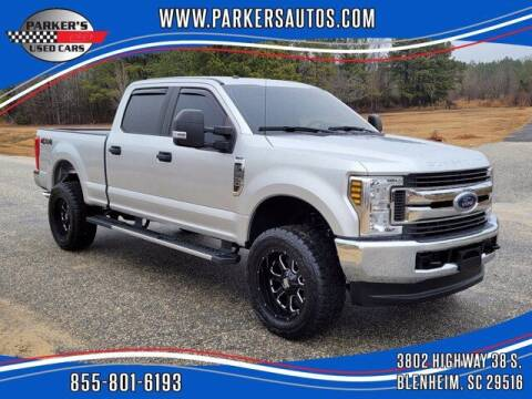 2018 Ford F-250 Super Duty for sale at Parker's Used Cars in Blenheim SC
