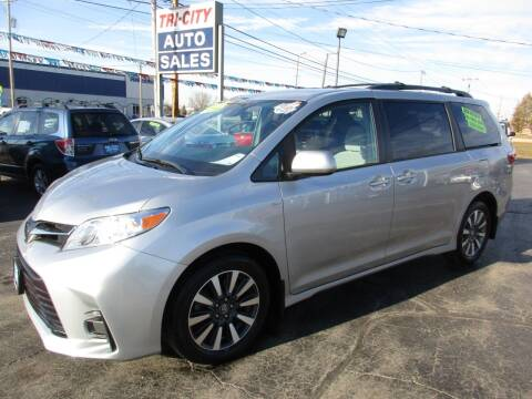 2019 Toyota Sienna for sale at TRI CITY AUTO SALES LLC in Menasha WI