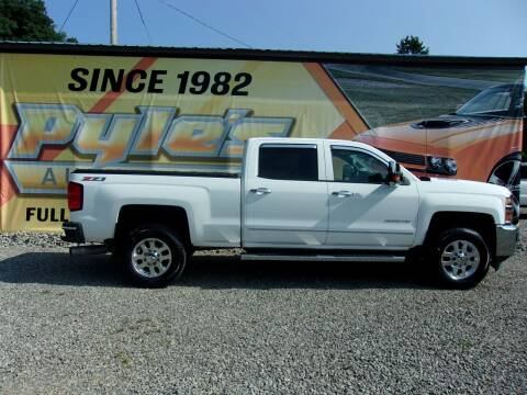 2015 Chevrolet Silverado 3500HD for sale at Pyles Auto Sales in Kittanning PA