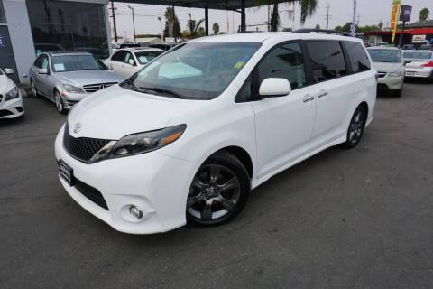 2015 Toyota Sienna for sale at Industry Motors in Sacramento CA