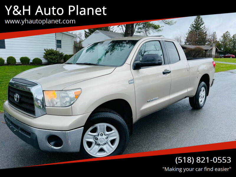 2008 Toyota Tundra for sale at Y&H Auto Planet in West Sand Lake NY