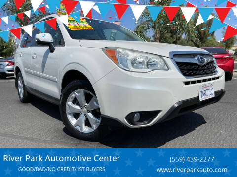 2014 Subaru Forester for sale at River Park Automotive Center in Fresno CA