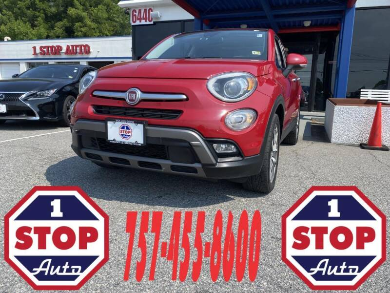 2016 FIAT 500X for sale at 1 Stop Auto in Norfolk VA
