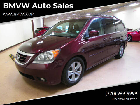 2010 Honda Odyssey for sale at BMVW Auto Sales in Union City GA