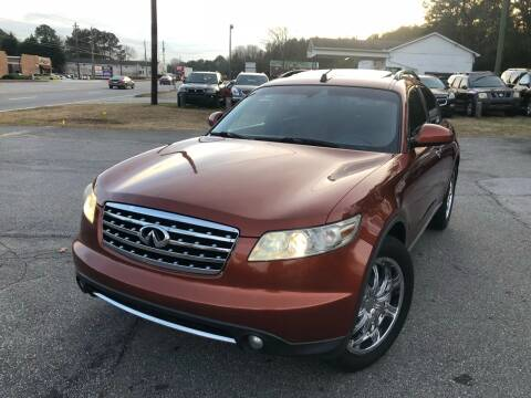 2006 Infiniti FX35 for sale at ATLANTA AUTO WAY in Duluth GA