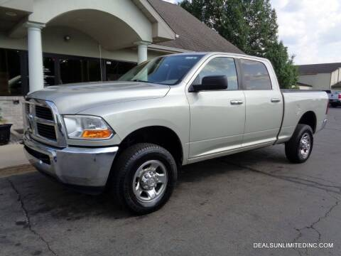 2010 Dodge Ram Pickup 2500 for sale at DEALS UNLIMITED INC in Portage MI