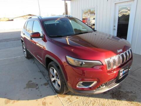 2021 Jeep Cherokee for sale at TWIN RIVERS CHRYSLER JEEP DODGE RAM in Beatrice NE