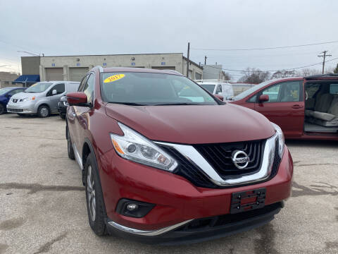 2017 Nissan Murano for sale at Unique Auto Group in Indianapolis IN