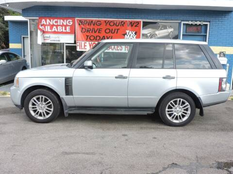 2011 Land Rover Range Rover for sale at Drive Auto Sales & Service, LLC. in North Charleston SC