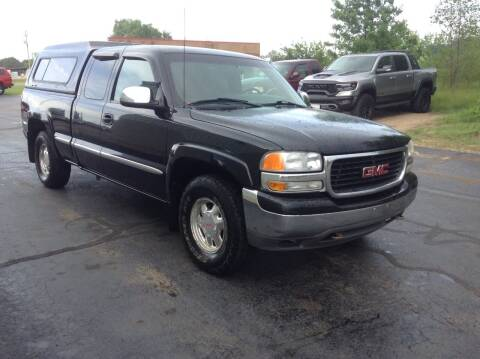 2001 GMC Sierra 1500 for sale at Bruns & Sons Auto in Plover WI