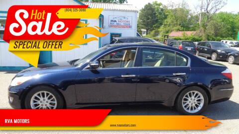 2010 Hyundai Genesis for sale at RVA MOTORS in Richmond VA