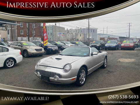 2005 Ford Thunderbird for sale at Impressive Auto Sales in Philadelphia PA