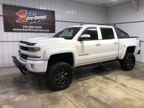 2018 Chevrolet Silverado 1500 for sale at Karl Pre-Owned in Glidden IA
