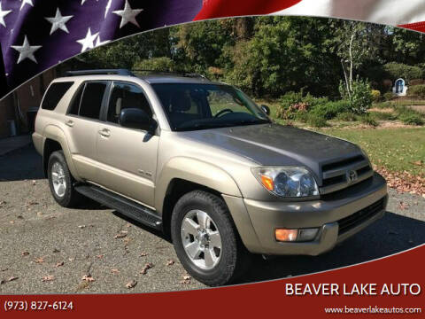2004 Toyota 4Runner for sale at Beaver Lake Auto in Franklin NJ