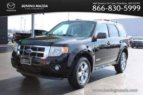 2008 Ford Escape for sale at Bening Mazda in Cape Girardeau MO