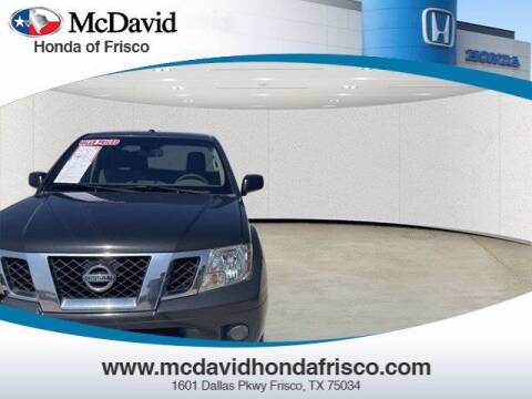 2012 Nissan Frontier for sale at DAVID McDAVID HONDA OF IRVING in Irving TX