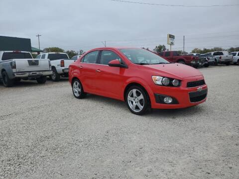 2015 Chevrolet Sonic for sale at Frieling Auto Sales in Manhattan KS