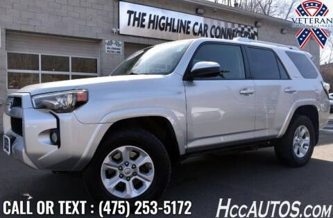 2014 Toyota 4Runner for sale at The Highline Car Connection in Waterbury CT