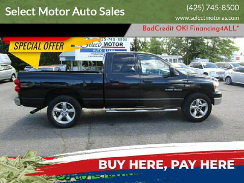 2007 Dodge Ram Pickup 1500 for sale at Select Motor Auto Sales in Lynnwood WA