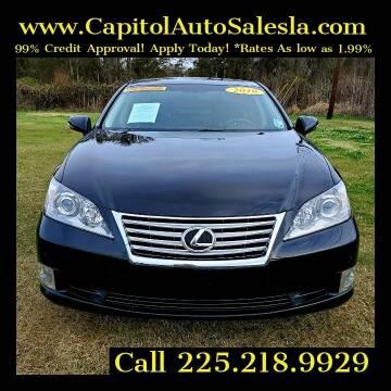 2010 Lexus ES 350 for sale at CAPITOL AUTO SALES LLC in Baton Rouge LA