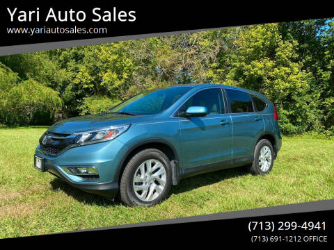 2016 Honda CR-V for sale at Yari Auto Sales in Houston TX