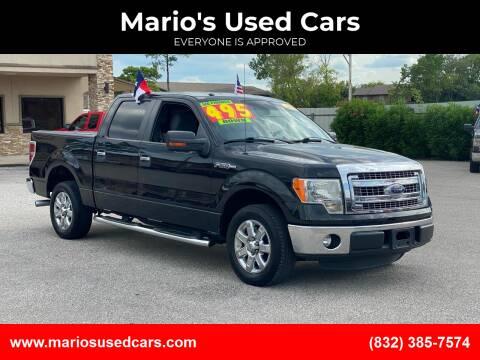 2013 Ford F-150 for sale at Mario's Used Cars - Pasadena Location in Pasadena TX