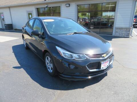 2016 Chevrolet Cruze for sale at Tri-County Pre-Owned Superstore in Reynoldsburg OH