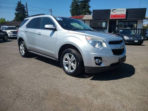 2013 Chevrolet Equinox for sale at Universal Auto Sales in Salem OR