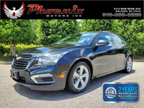 2015 Chevrolet Cruze for sale at Phoenix Motors Inc in Raleigh NC