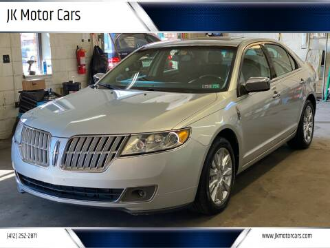2012 Lincoln MKZ for sale at JK Motor Cars in Pittsburgh PA