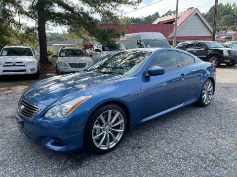 2008 Infiniti G37 for sale at Car Online in Roswell GA