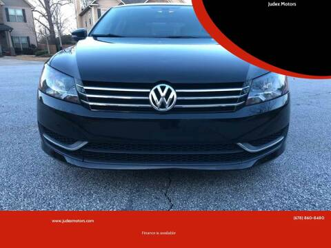 2012 Volkswagen Passat for sale at Judex Motors in Loganville GA