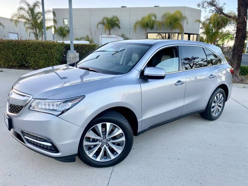 2016 Acura MDX for sale at Destination Motors in Temecula CA